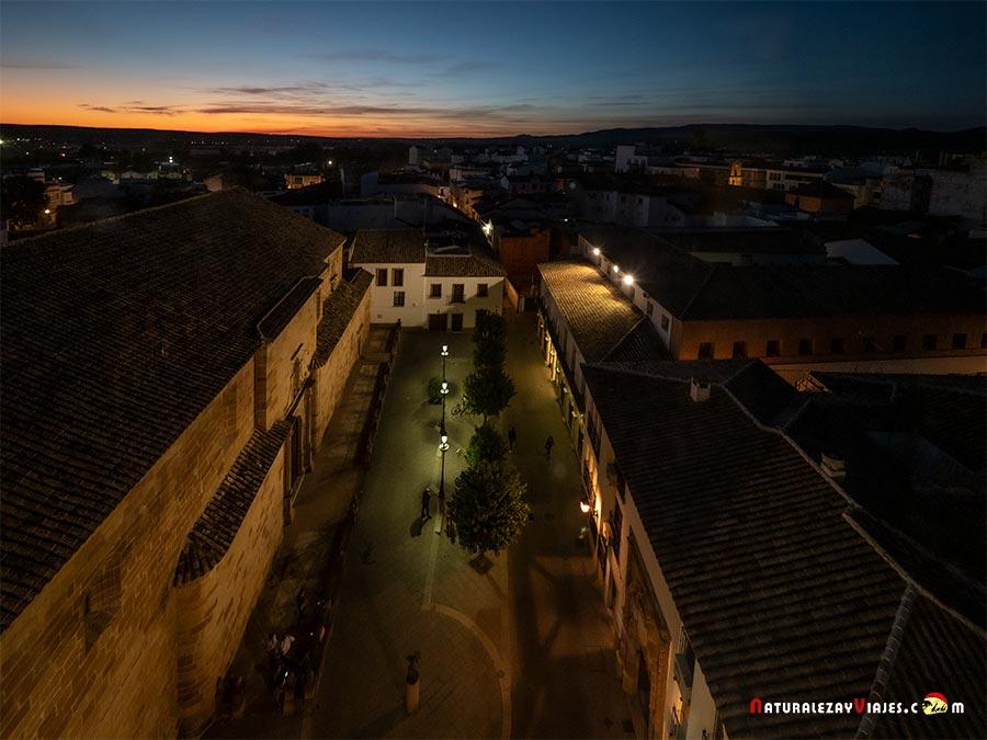 Mirador torre reloj Andújar