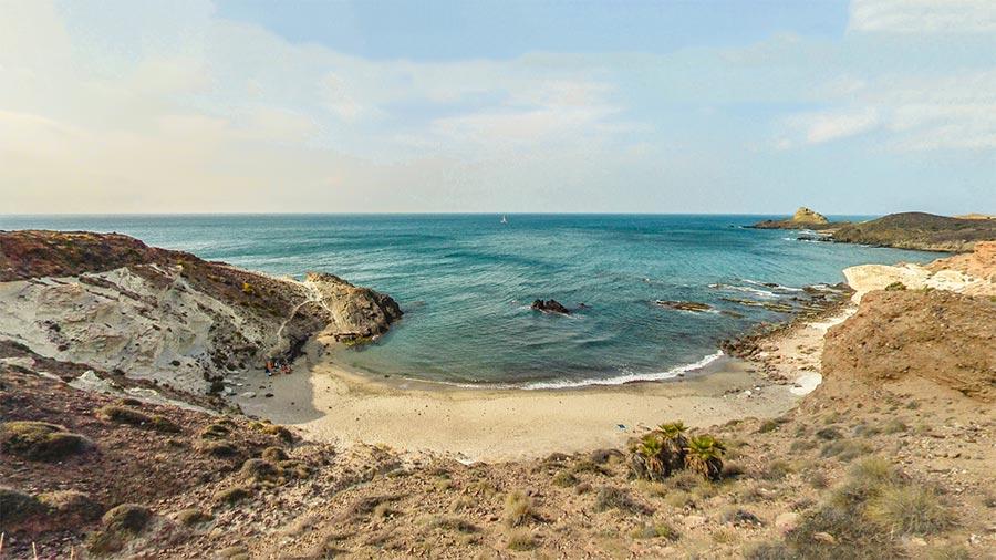 Cala Rajá en Cabo de Gata, Andalucía