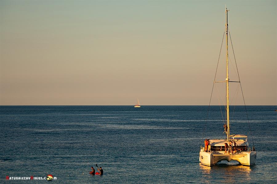 Paseo en barco Ibiza