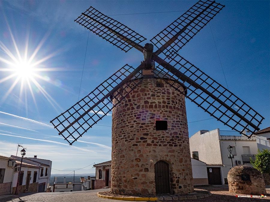 Molino de viento Baños de la Encina, Jaén