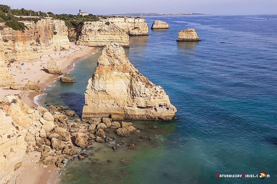 Playa da Marinha, Algarve