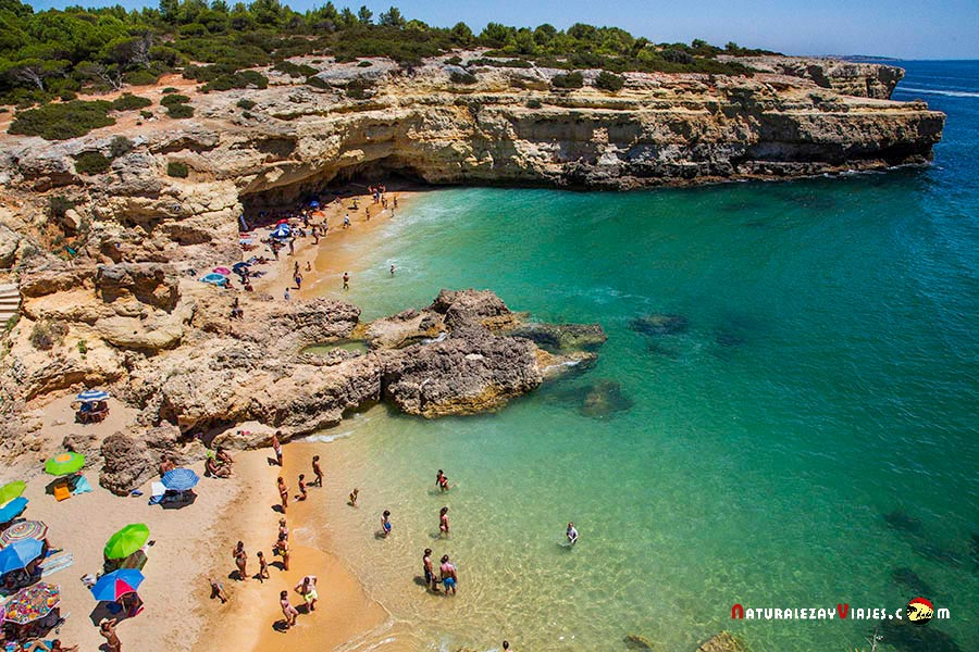 Playa Albandeira, Algarve