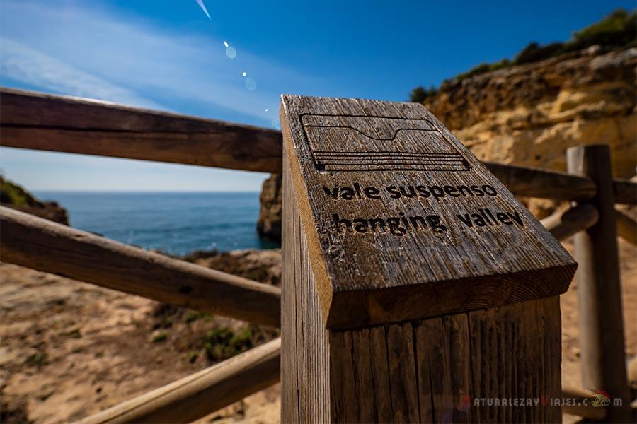 Valles suspendidos, Algarve