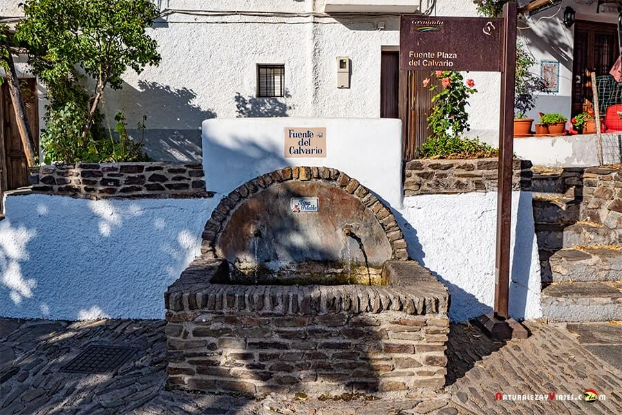 Fuente del Calvario, Capileira Alpujarra