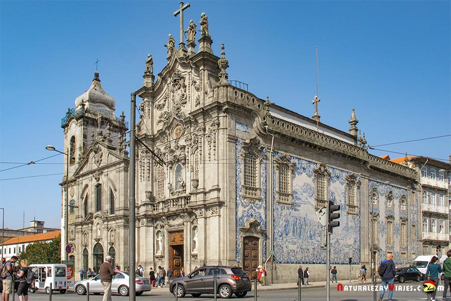 Iglesia do Carmo, Oporto
