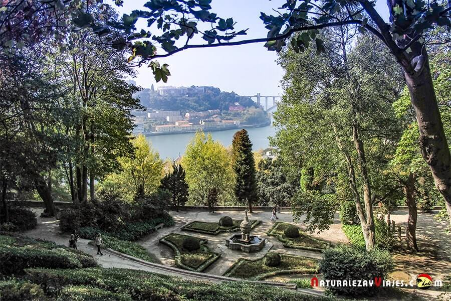 Jardines Palacio Cristal, Oporto