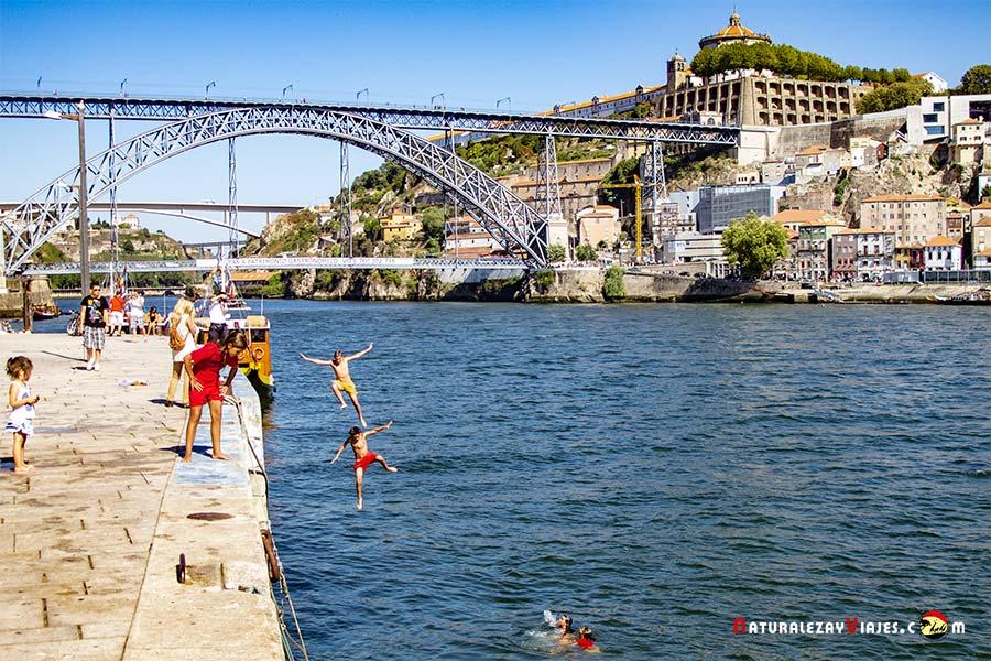 Río Duero de Oporto
