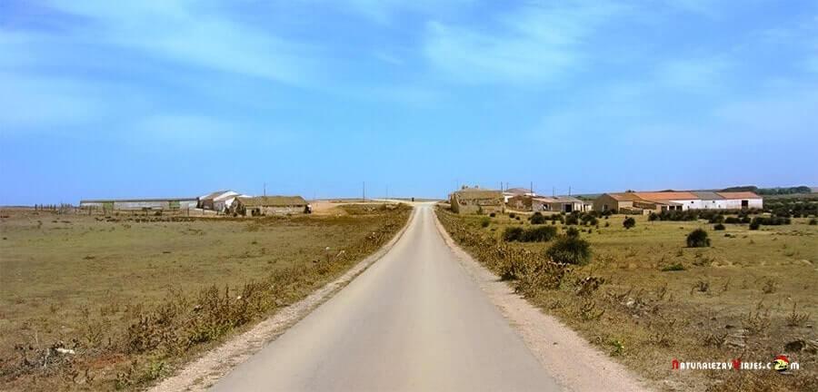 Acceso a la playa de Telheiro