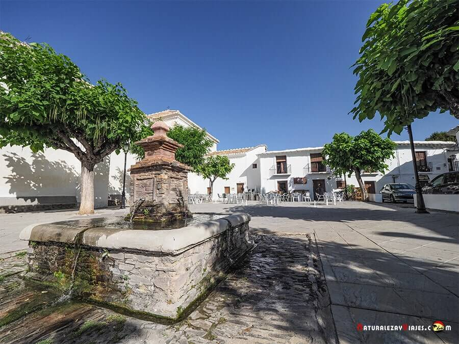 Plaza de Bubión