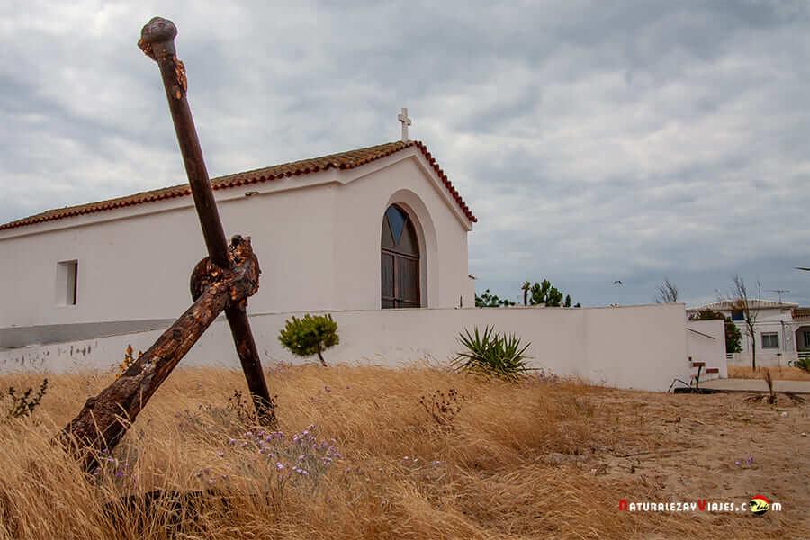 Iglesia en la Isla de Culatra