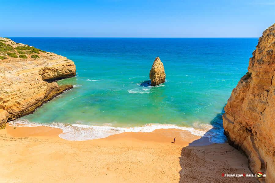 Playa Carvalho, entre las Mejores playas de Lagoa