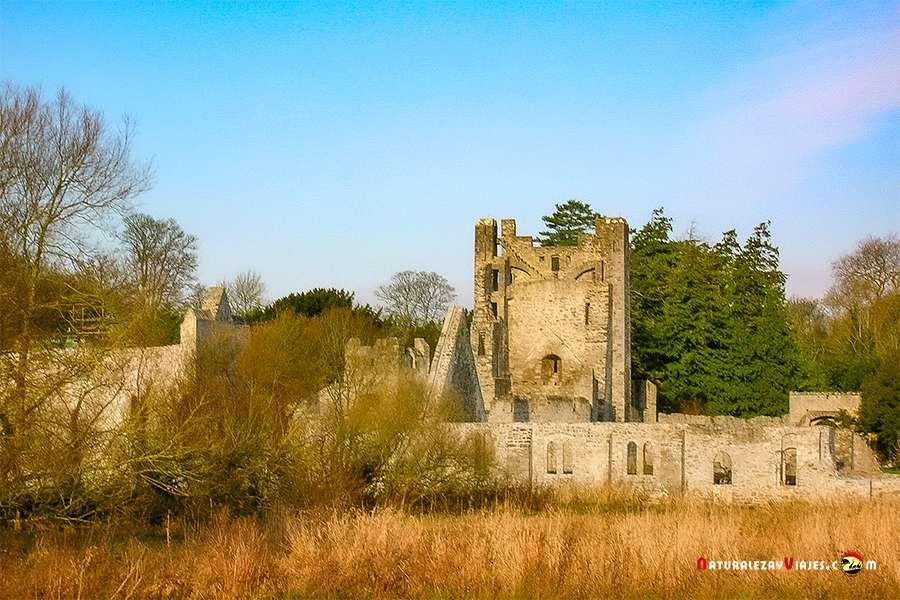 Castillo de Adare, uno de los lugares que ver en Irlanda