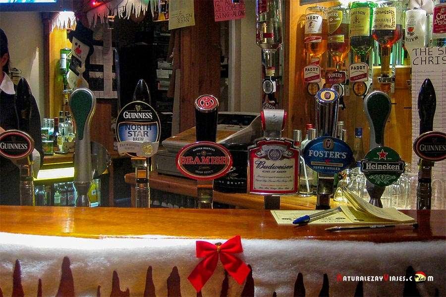 Cervezas en Irlanda