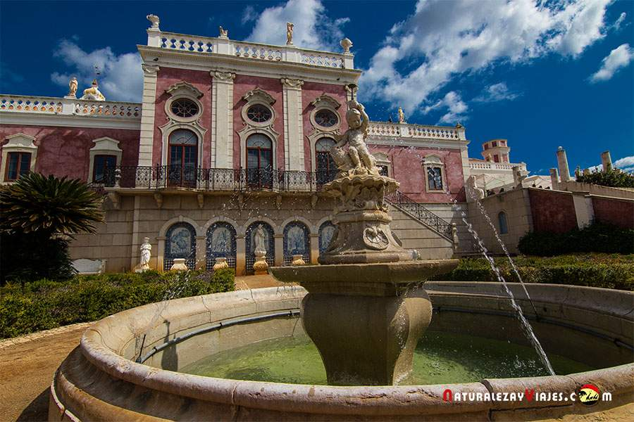 Palacio de Esoi en Faro, la capital del Algarve