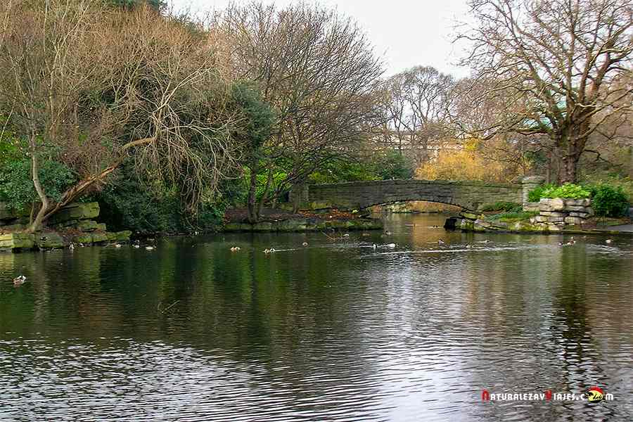 Saint Stephen's Green (jardines de San Stephen, un imprescindible que ver en Irlanda