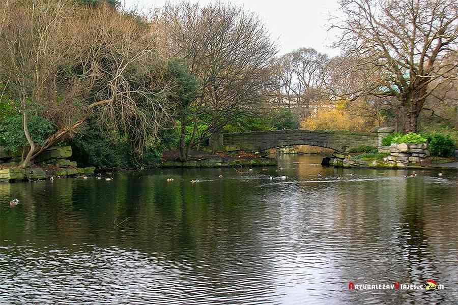 Saint Stephen's Green (jardines de San Stephen