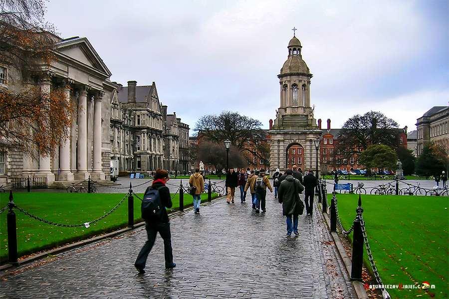 Trinity College, otro de los lugares que ver en Irlanda