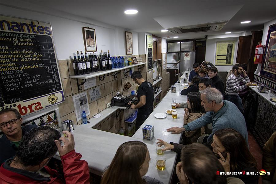 Bar los Diamantes, otro de los Bares de tapas de Granada
