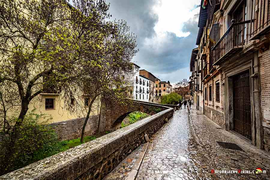 Carrera del Darro, un imprescindible que ver en Granada