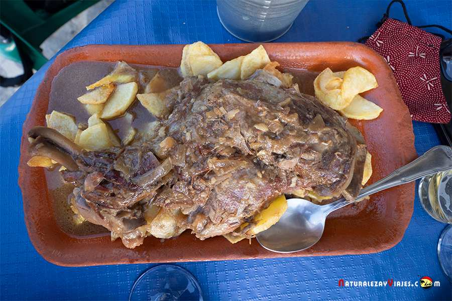 comer en Benamahoma, restaurante el Cancha
