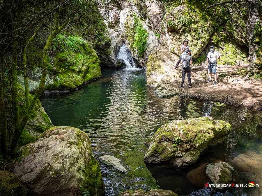 cascadas del Arroyo de Guijarra, Sierra de Huelva