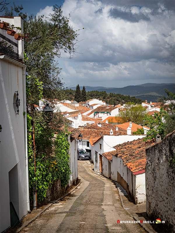 Cortelazor, otro de los pueblos más bonits de la Sierra de Huelva