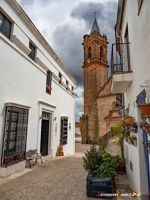 Iglesia de Fuenteheridos, Sierra de Huelva