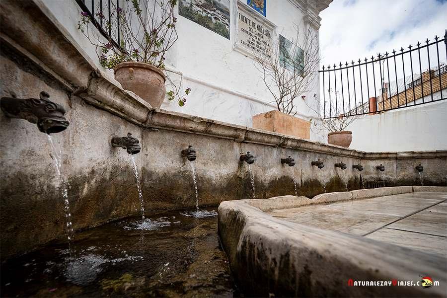 Fuente de Galaroza, Sierra de Huelva