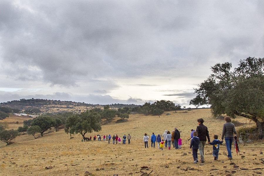 Senderismo Sierra de Huelva con niños
