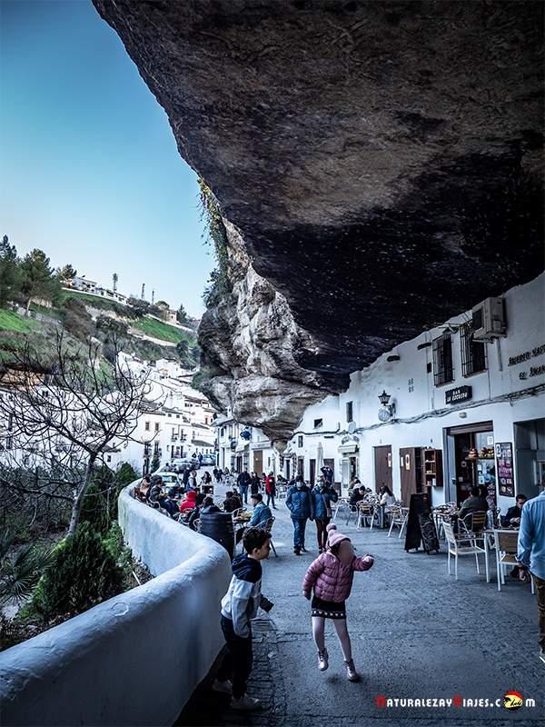 Setenil de las Bodegas, uno de los pueblos blancos de la Sierra de Cádiz