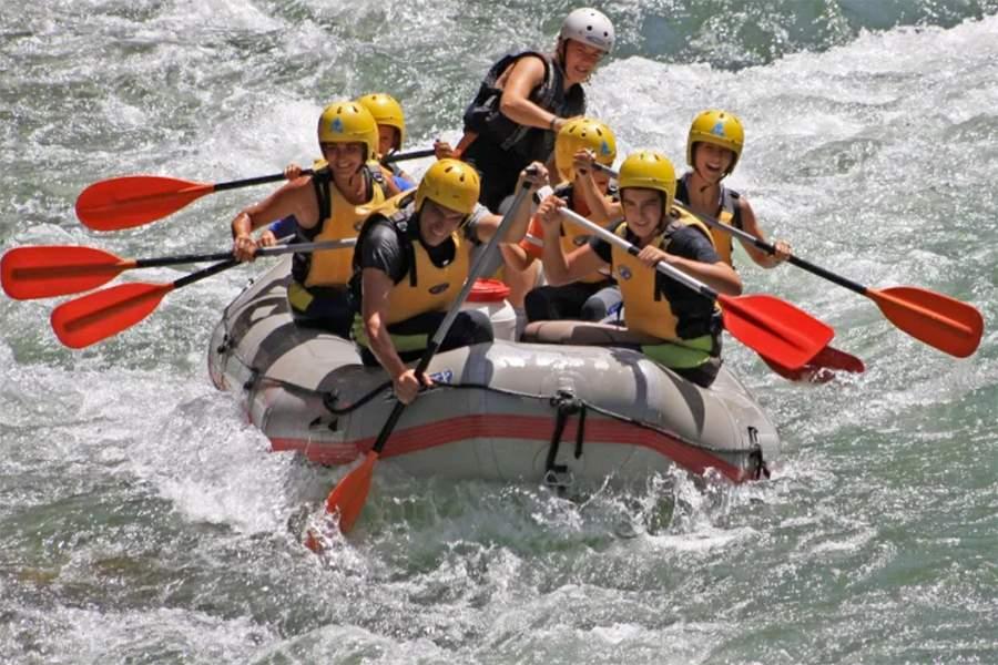 Rafting en la Sierra de Cazorla