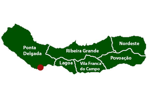 Concelhos Isla Sao Miguel Azores