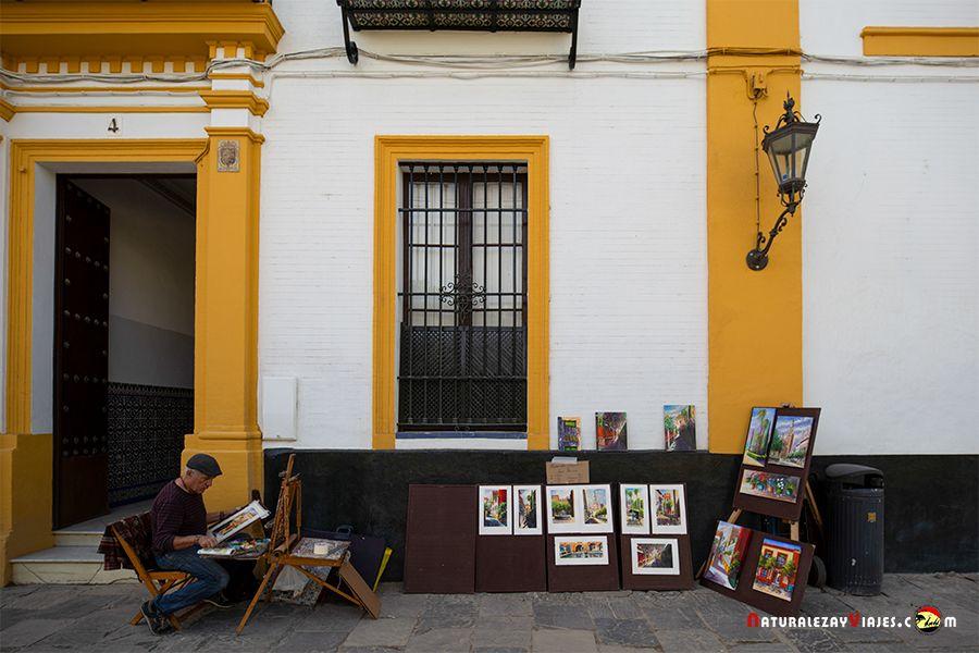 Artistas callejeros que ver en Sevilla en dos días