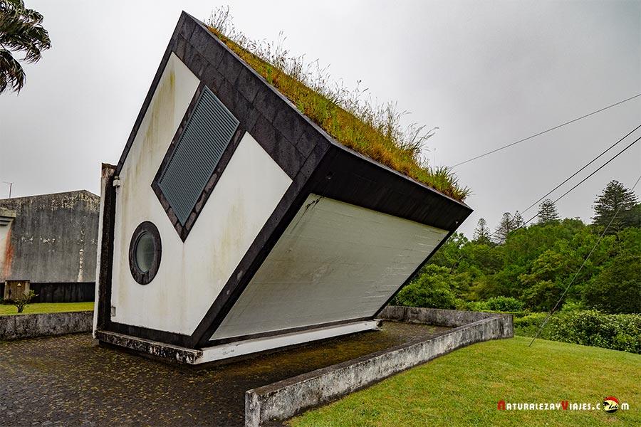 Casa invertida Furnas, Sao Miguel de las ISlas Azores