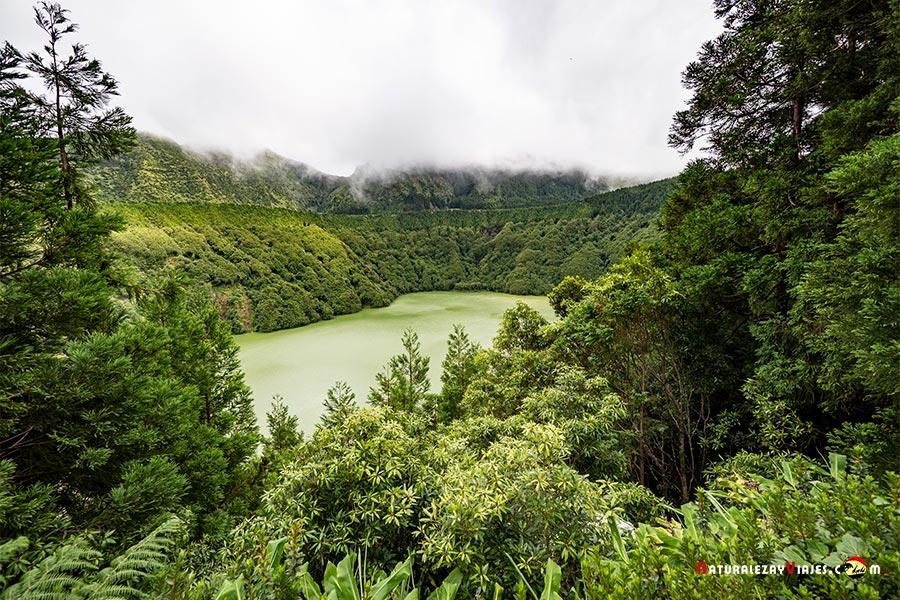 Lagoa Santiago, Azores, Sao Miguel