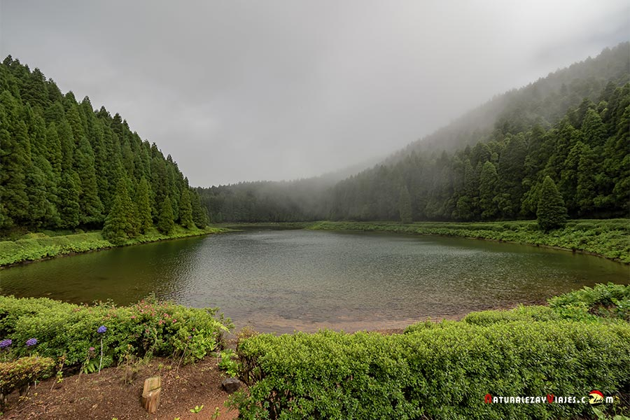 Lagoa das Empadadas, uno de los lugares qué ver en la Isla São Miguel, Azores