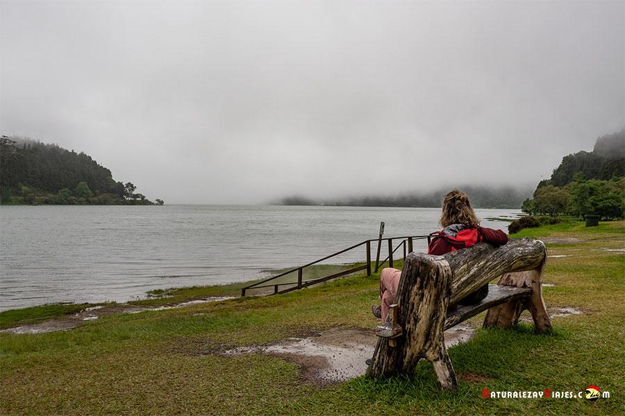 Lagoa das Furnas, uno de los lugares más bonitos de qué ver en São Miguel, Azores