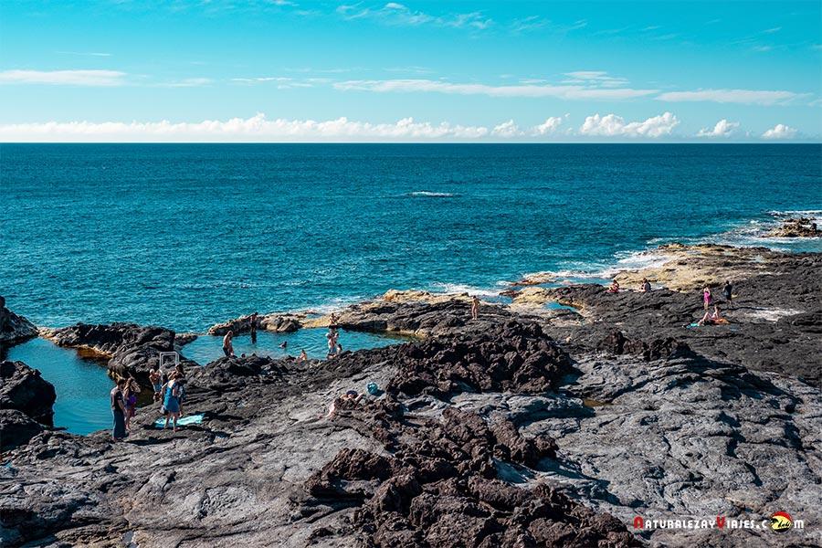 Piscinas naturales Caneiro, Islas Azores