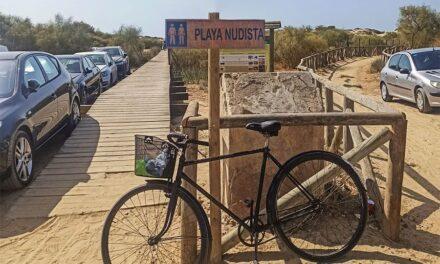 Playas nudistas en Huelva