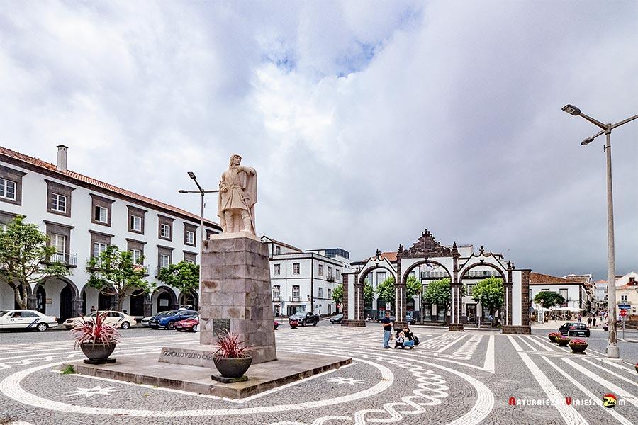Ponta Delgada, capital de São Miguel, Azores