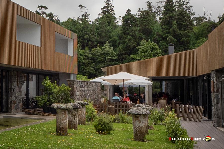 Casa de té en Sete Cidades, Sao Miguel Azores