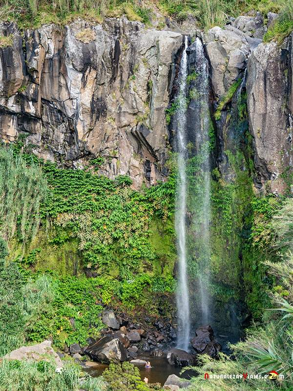 Salto da Farinha uno de los lugares qué ver en la Isla São Miguel, Azores